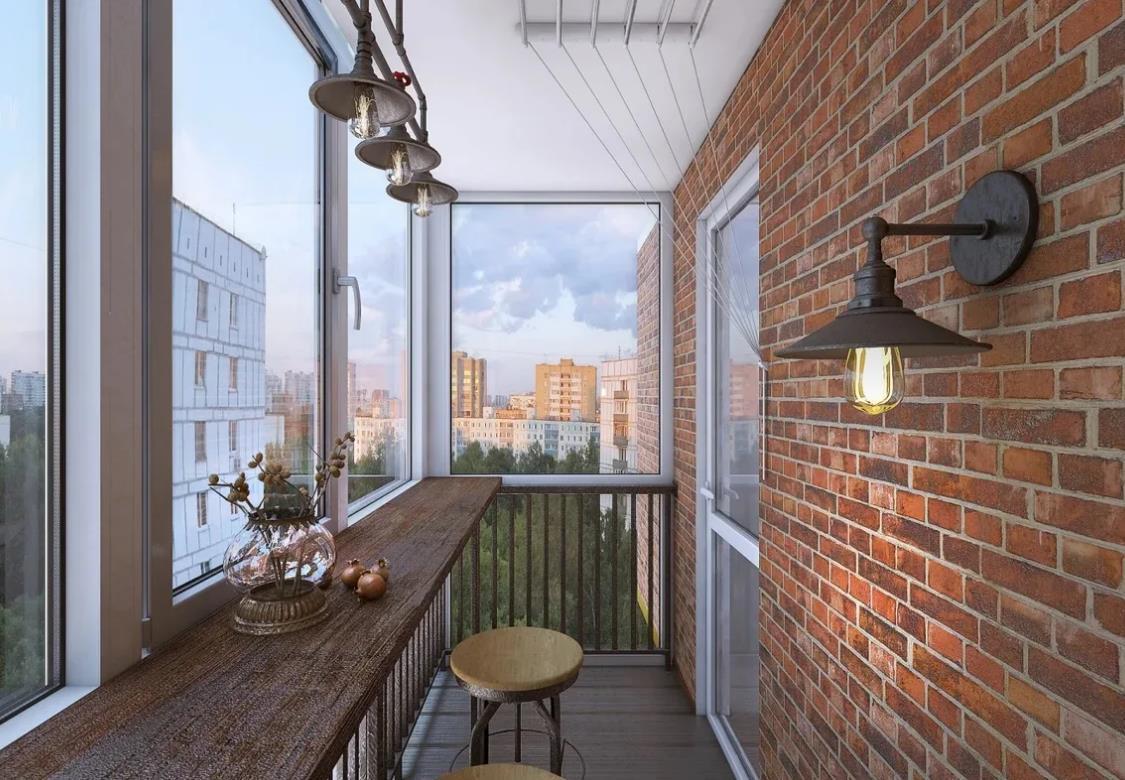Освещение на балконе, варианты освещения и как сделать своими руками