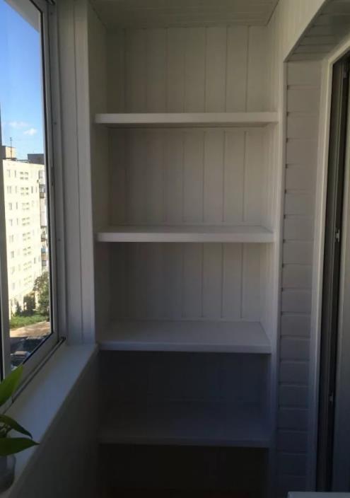 Стеллаж на балкон своими руками, деревянный и металлический из профилей, чертежи