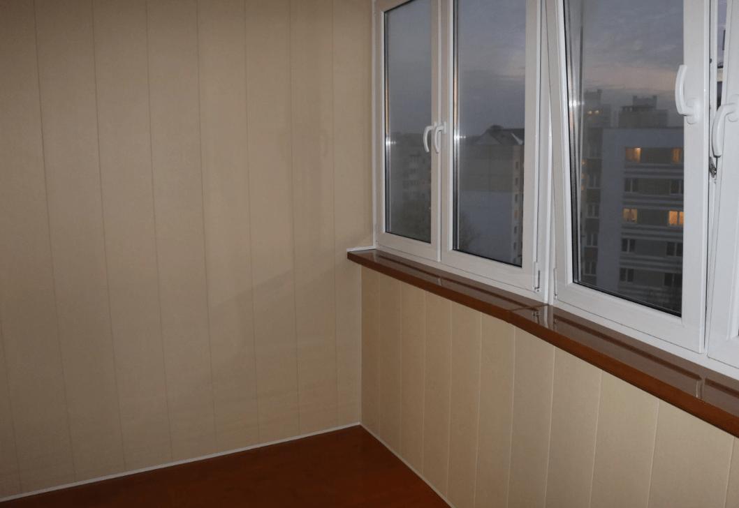 Чем обшить балкон внутри. Выбираем материал. Особенности ремонта