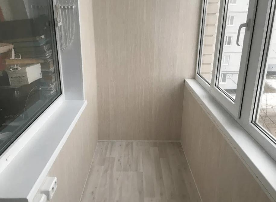 МДФ-панели на балконе
