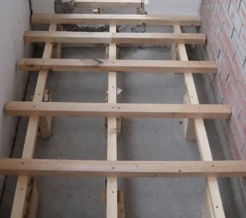Как поднять пол на балконе, своими руками, на 10 см, 15см и 20 см