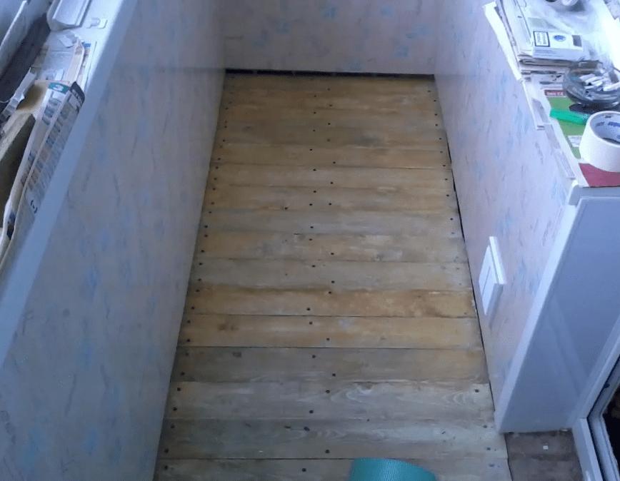 Утепление пола на балконе. Пошаговая инструкция