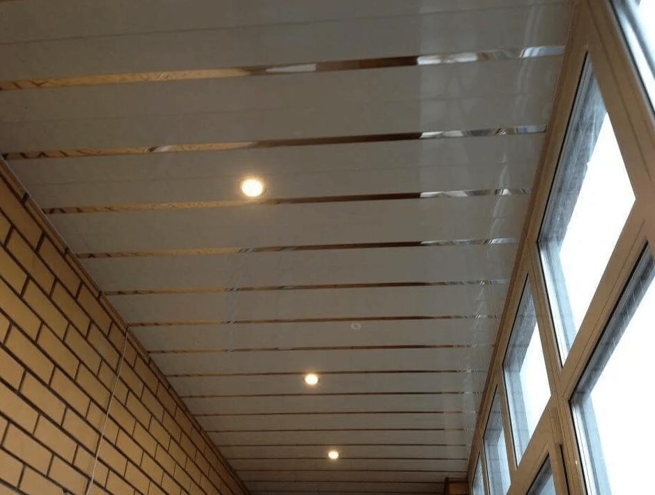 Потолок на балконе своими руками. Делаем натяжной потолок, из ПВХ и МДФ панелей. Инструкция