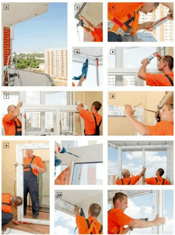 Остекление балкона своими руками. Пошаговая инструкция. Инструменты для монтажа окон
