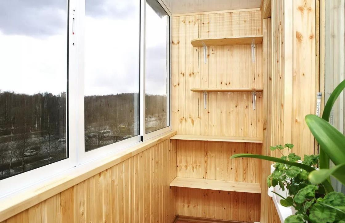 Как обшить балкон вагонкой своими руками, пошаговая инструкция