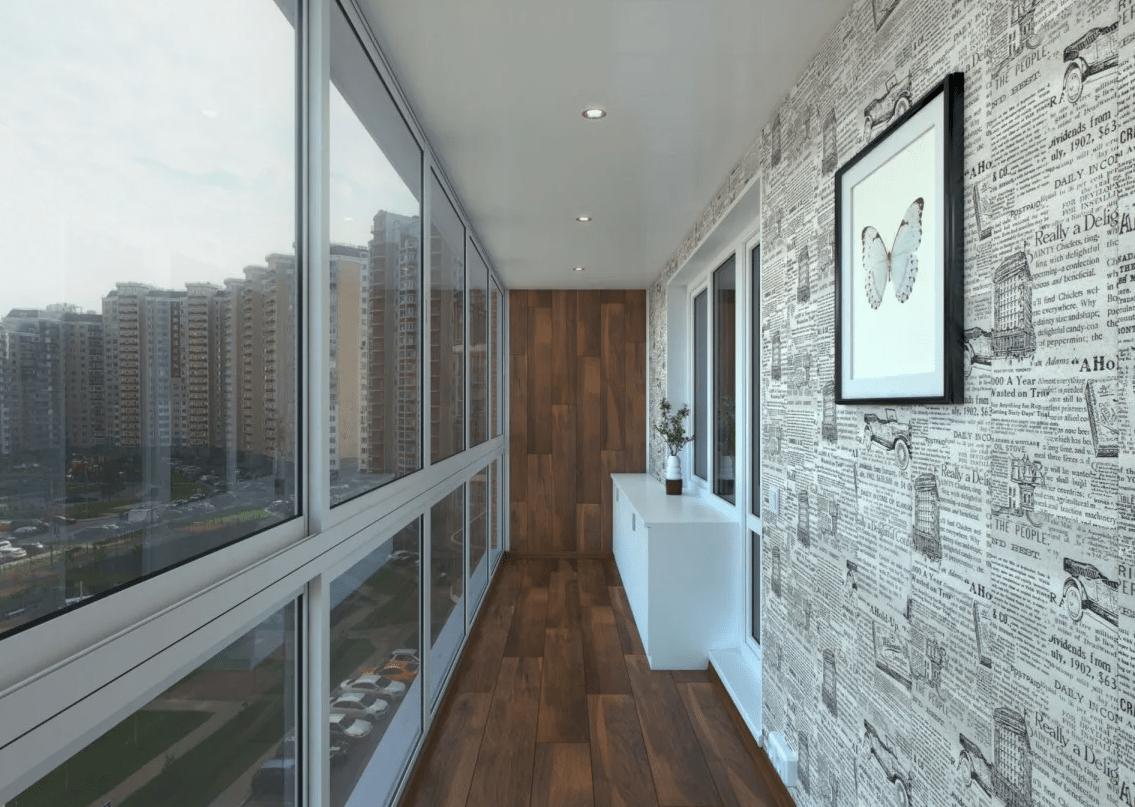 Выбор панелей для отделки балконов