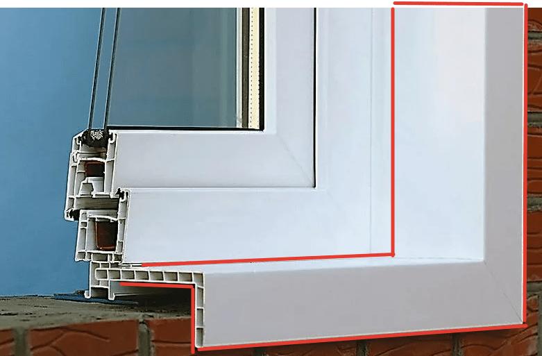 Наружные откосы для пластиковых окон: инструкция по отделке