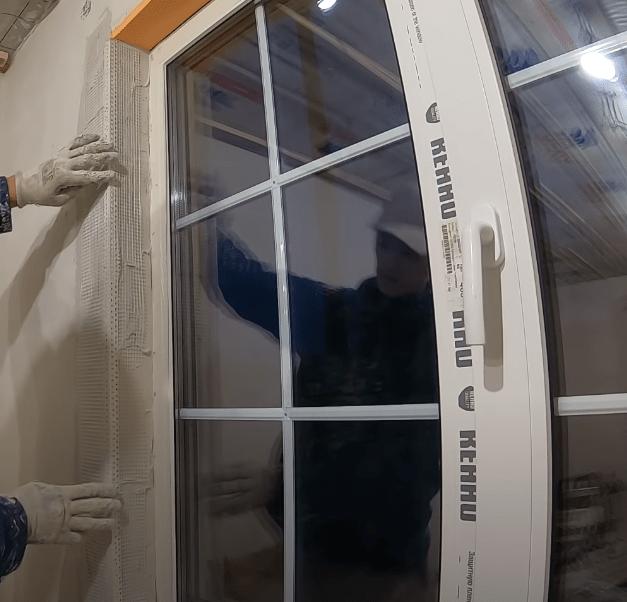 Теплые откосы на пластиковые окна своими руками: внутри и снаружи